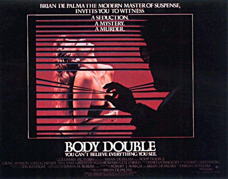January 14, 2016. Body Double (Brian DePalma, 1984)