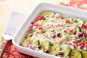 Zucchini Gratin recipe: Side Dishes, Zucchini Gratin, Low Calories, Zucchini Au, Low Cholesterol, Gratin, Gratin Recipe, Low Carbohydrates, Food Recipe