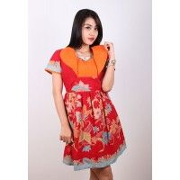 NEW ARRIVALS  Batik Trusmi Dres Batik Trusmi Yuken Obnaesel Bunga Kupu Merah Orange IDR 315.000  *bahan: Katun Halus Exclusive *size: M, L & XL *pilihan warna: Merah Orange  -------------------------------------------------------------------------------- Info Order, hubungi Team Marketing Online kami [Open Reseller & Dropship] --> Phone/SMS/Whatsapp/Line :  Dian : 081564690003 | PIN BB: 57FA23DC Linda: 085864040786 | PIN BB: 57E93563 Gina : 089665271943 | PIN BB: 79FCA1A9 Viny : 085724290097…