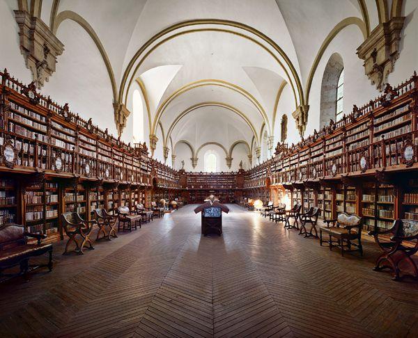 La Biblioteca at La Universidad de Salamanca.