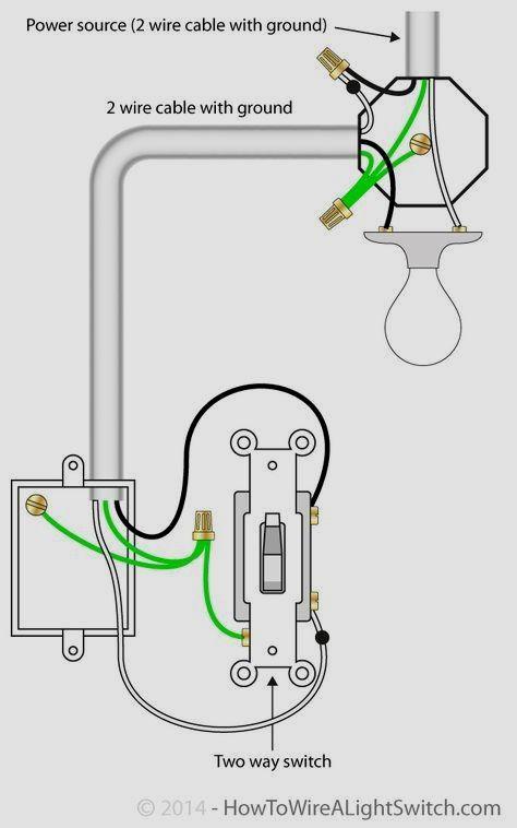 wiring a light fixture power at