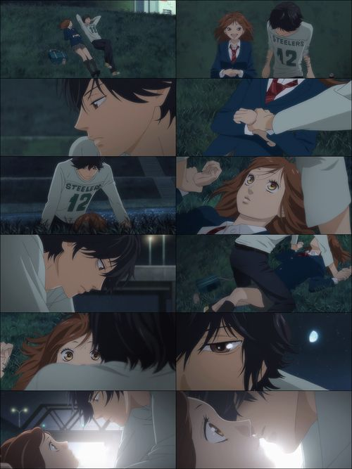 Ao Haru Ride, you know you got excited when you were watching this scene played out <3