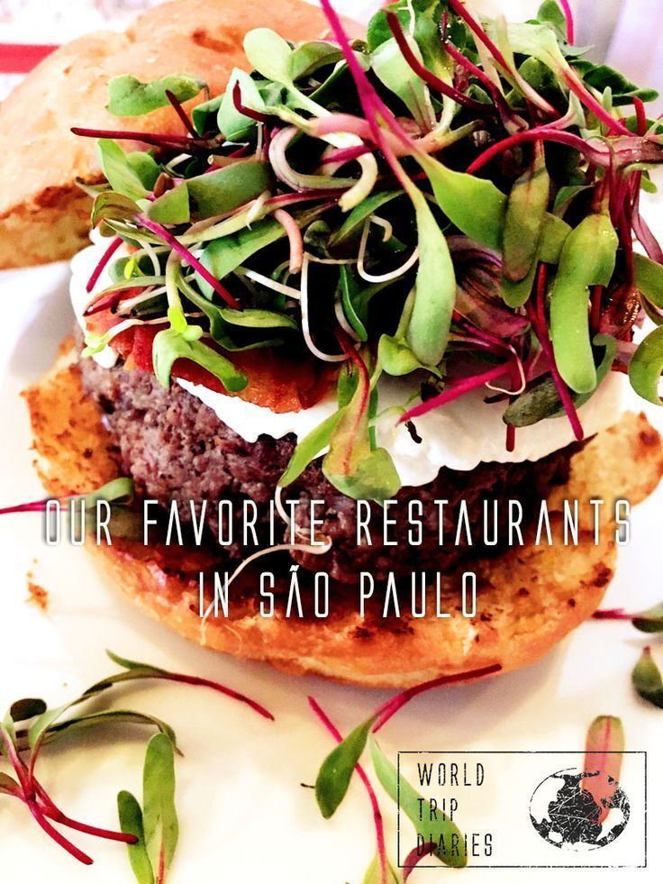 Are you hungry? Here are our favorite restaurants in São Paulo, Brazil! - World Trip Diaries