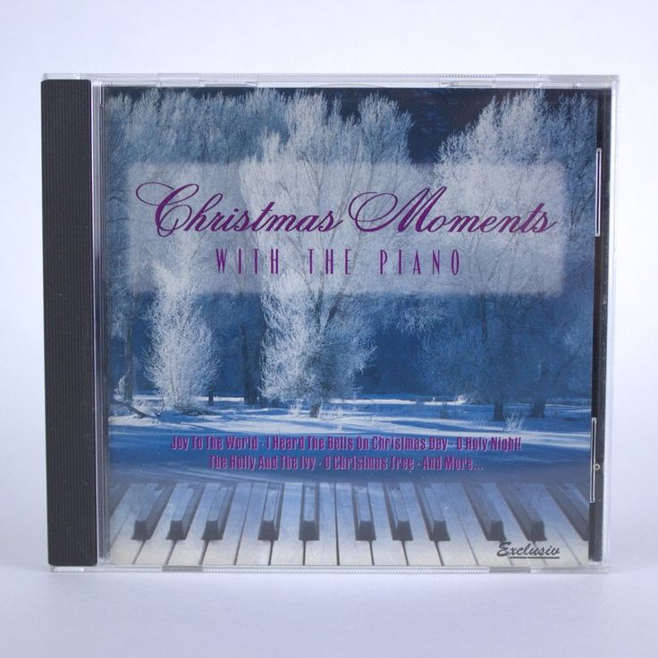 Christmas Moments with the Piano by Various Artists - Holiday Seasonal Music CD #Christmas