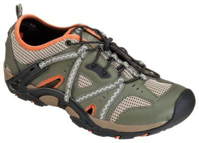 World Wide Sportsman Chesapeake Water Shoes for Men - Olive - 10M