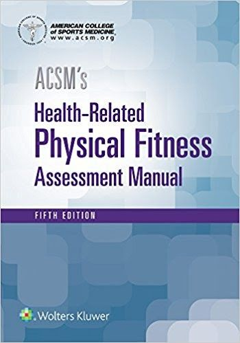 ACSM's Health-Related Physical Fitness Assessment  #BIG#  Book Synopsis  Published by the American College of Sports Medicine this authoritative manual teaches health fitness professionals and students how to appropriately conduct fitness assessment testing. The focus on assessment makes this content critical for those studying to enter the fitness and rehabilitation fields as well as those already working who need to align their practice to industry standards.  This new edition has been…