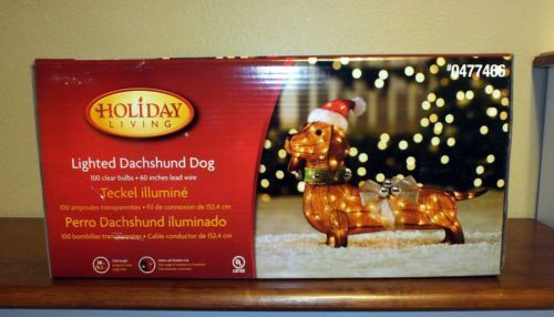Dachshund Christmas Yard Decoration Goldenacresdogs Com