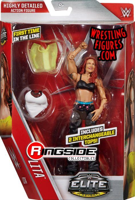 Lita - WWE Elite 41 WWE Toy Wrestling Action Figure