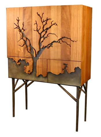 Cabinet by Iron Age. #covetlounge