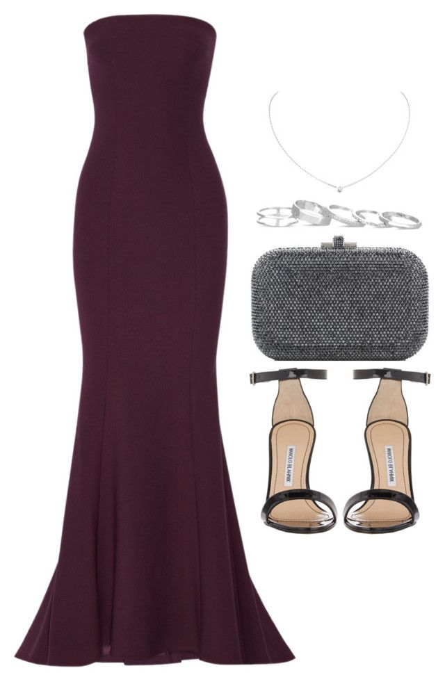 """Sin título #14221"" by vany-alvarado ❤ liked on Polyvore featuring Elizabeth and James, Manolo Blahnik, Judith Leiber, Cartier and Kendra Scott"