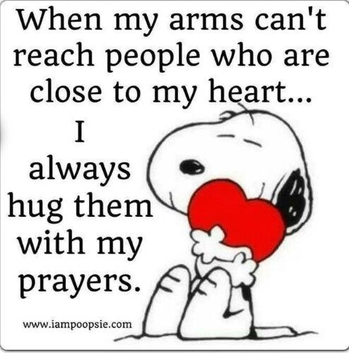 Hug with my prayers quote | Quotes | Pinterest | Snoopy ...