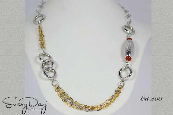 #Collana #argento #silver   www.fashiongoldgioielli.com