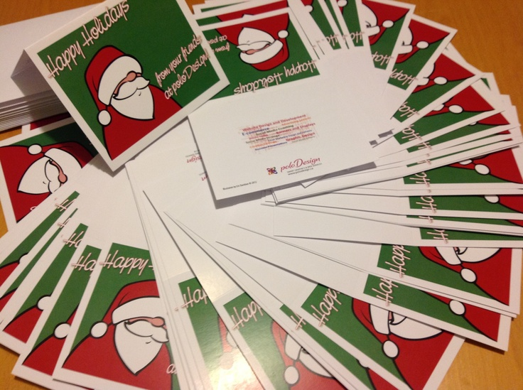 Every year I get to create the poloDesign Christmas cards for sending out to our clients. Merry Christmas everyone!
