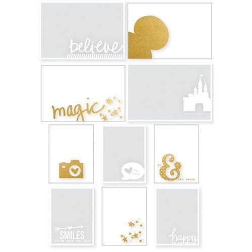 Simple Stories ~ SAY CHEESE III ~ Clear Stickers ~ Disney