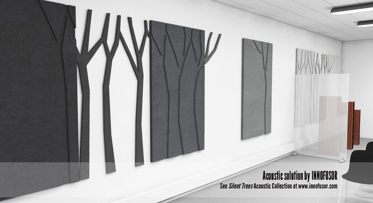 """Silent Trees collection used in creative way - every other module is """"left away"""" so you end up with endless possibilities to corridors and long halls without overtaxing the walls."""