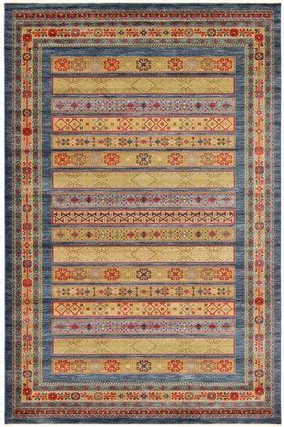 Multi Luxury Gabbeh Wool Rug GB-36 $857.00