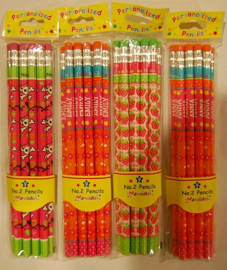 9 my name 2 personalized pencils   dylan name on a set of