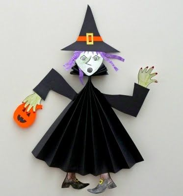 that artist woman: Paper Fold Witch