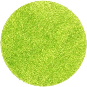 your zone round shag rug, green glaze
