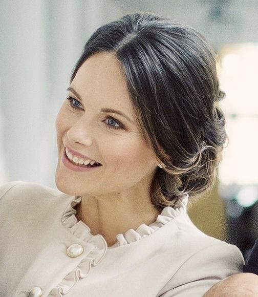 """royal-hair: """"New picture of Princess Sofia. The close-up is part of the new family portraits of the Prince couple. """""""