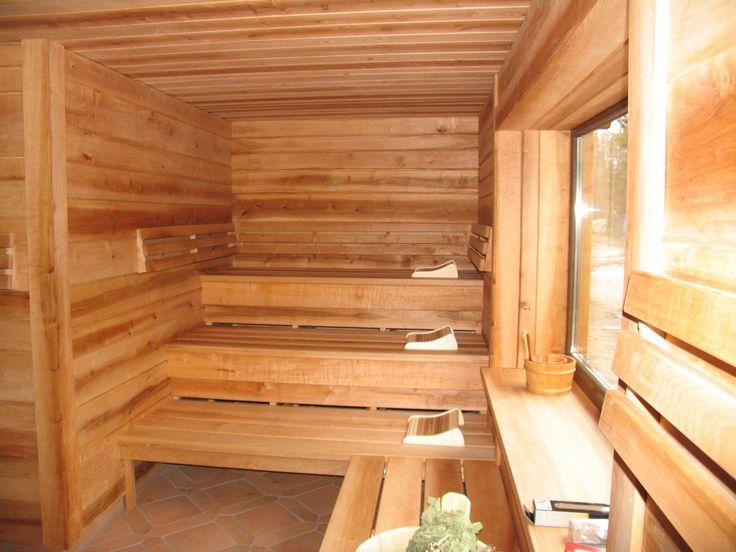 Latvian sauna design