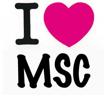 I Love MSC - www.mscboutique.com