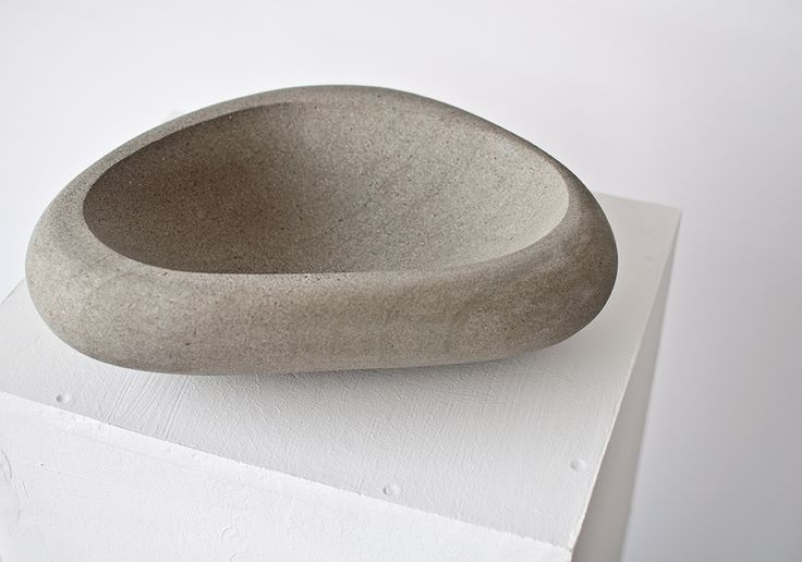 hande made stone bowl no. 5 www.karpf.com.pl