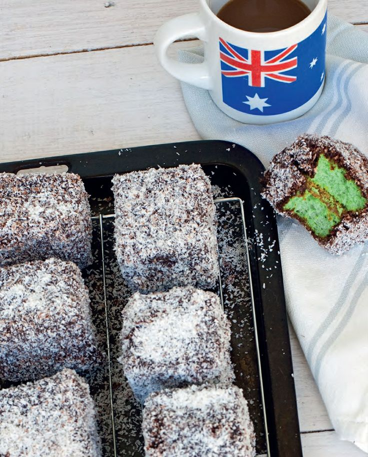 Pandan kaya lamington recipe by Billy Law | Cooked
