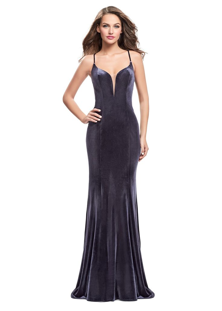 Shop the new collection of La Femme dresses, featuring La Femme 25174. La Femme dresses and evening gowns are the perfect choice for Prom Dresses, Pageant Gowns, Graduation Dresses, Social Occasion Dresses, and Military Ball Dresses.Fabric: Velvet