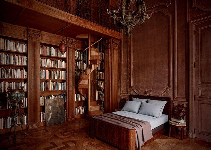 Lit A Baldaquin Pour Sommeil Royal : Id� es sur le thème chambres À coucher de style français