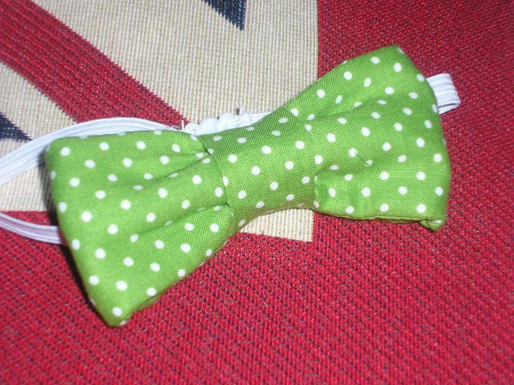 Bow tie. Party favor for my Little Man's 3rd birthday party. Bow ties for little boys and hair bows for little girls.