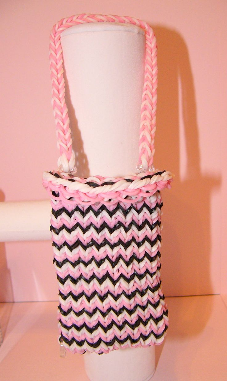 Rubber+Band+Loom+Purse+by+CraftsAreMyVice+on+Etsy,+$8.00