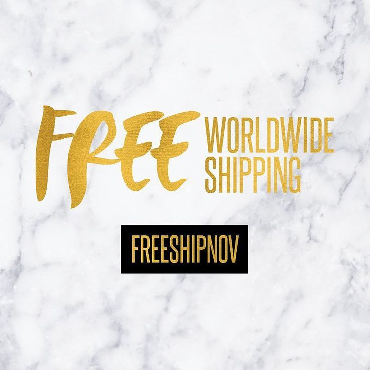 "FREE WORLDWIDE SHIPPING - 72 HOURS  Hey girls! We are offering FREE worldwide shipping for the next 72 hours only! Use coupon code ""FREESHIPNOV"" at checkout! Grab your new pair of shades today & receive them by next week! #freeshipping"