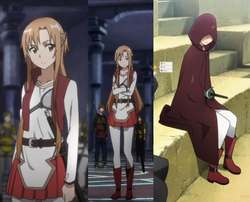 anime cosplay ideas for beginners: Asuna's Beginner Outfit