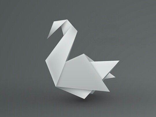 Origami swan                                                       …