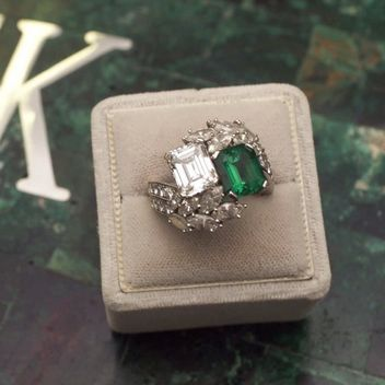Jackie Kennedy's gorgeous engagement ring from John F. Kennedy