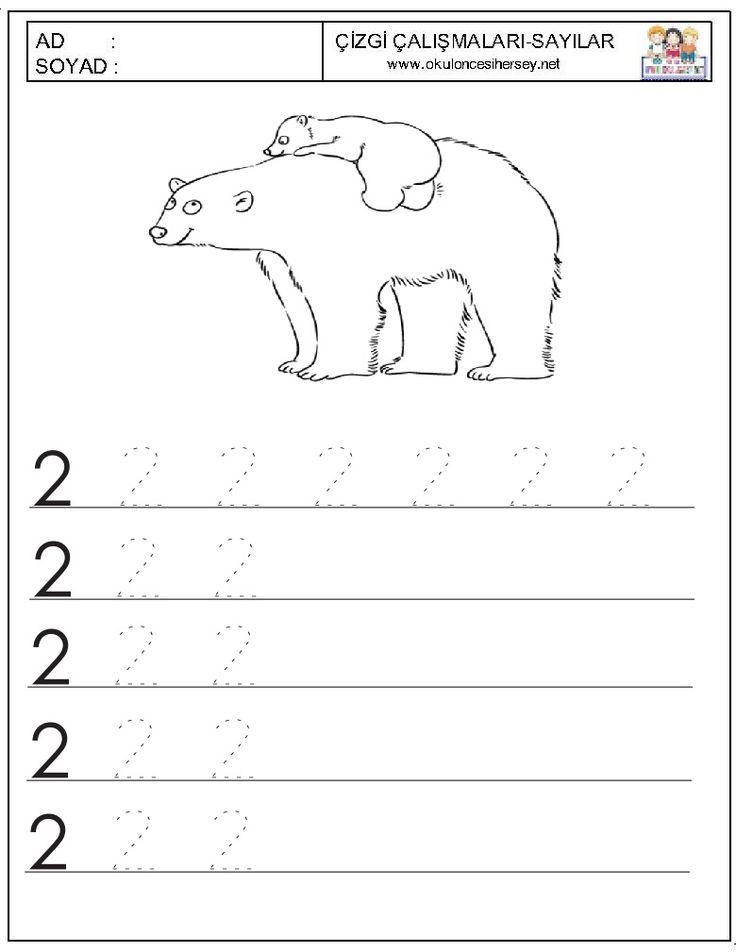okul öncesi 2 sayısını yazma - Google'da Ara