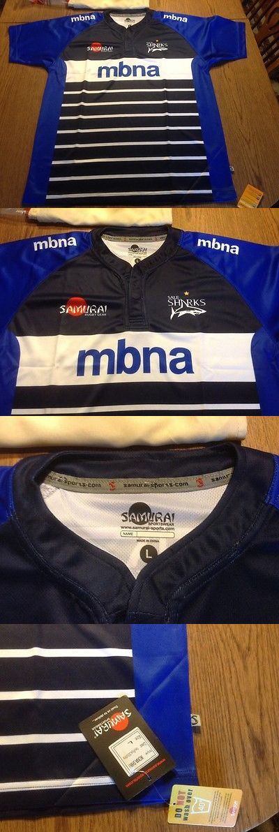 Rugby 21563: Sale Sharks 15 16 Rugby Jersey Nwt Large,Made By Samarai,England Rugby Htfin -> BUY IT NOW ONLY: $43 on eBay!