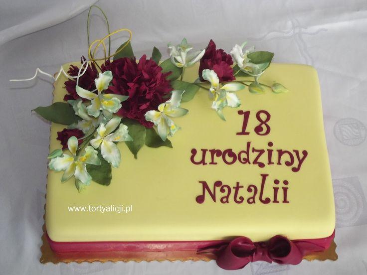 Zaczarowany Swiat Tortów: Torty na 18- te urodziny