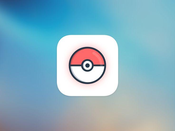 Pokemon GO icon by Nikita Gulak