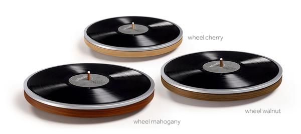 The Dutch company Miniot plans its #wheelbyminiot in three 'flavors' this year: mahogany, cherry and walnut.