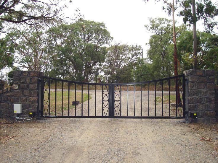 Solar Powered Electric Gates Melbourne