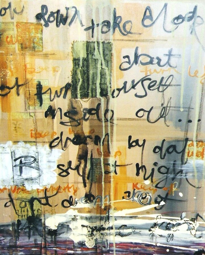FREE IN NYC :: PAINT AND POETRY BY SAMANTHA CLARK  Free in NYC  Unbounded. In New York City I ran free.  READ MORE