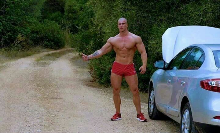 gay studs hitchhiker