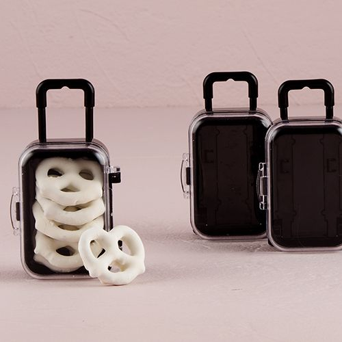 Miniature Travel Trolley with Wheels and Retractable Handle - THINGS FESTIVE