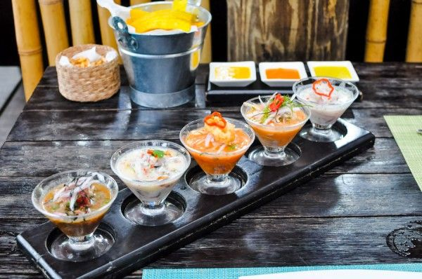 What to Eat in Miraflores - Lima, Peru (pictured is the famous La Mar restaurant)