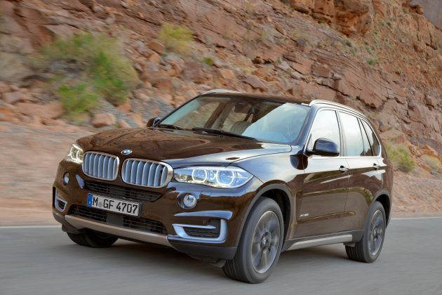 The new BMW X5.  BMW takes the Sports Activity Vehicle (SAV) even further