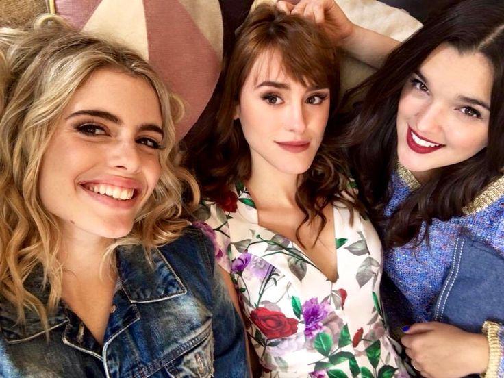 Chiari Parrancini, Katja Martínez y Malena Ratner.
