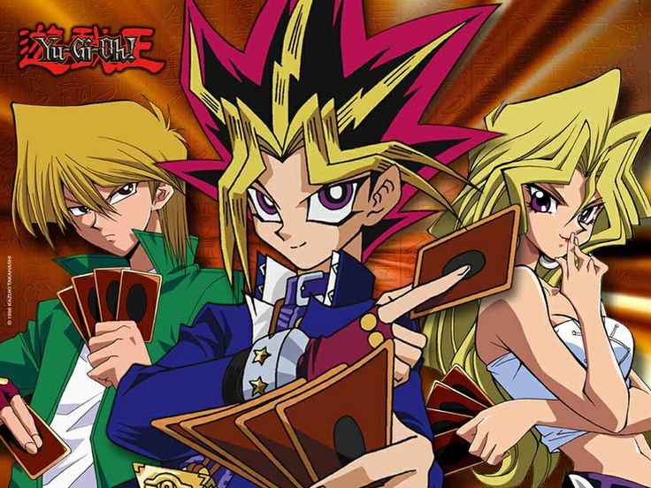 The card game that took over the world and had kids having to make the choice between sweets or cards easy cards all day you might get a Blue Eyes in this pack. Yu Gi Oh was one of the best tv series/card games of any generation.