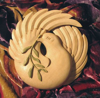 Dove for Peace - The Woodworkers Institute